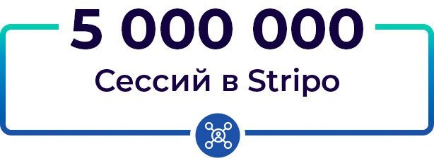 5 Million Sessions in Stripo