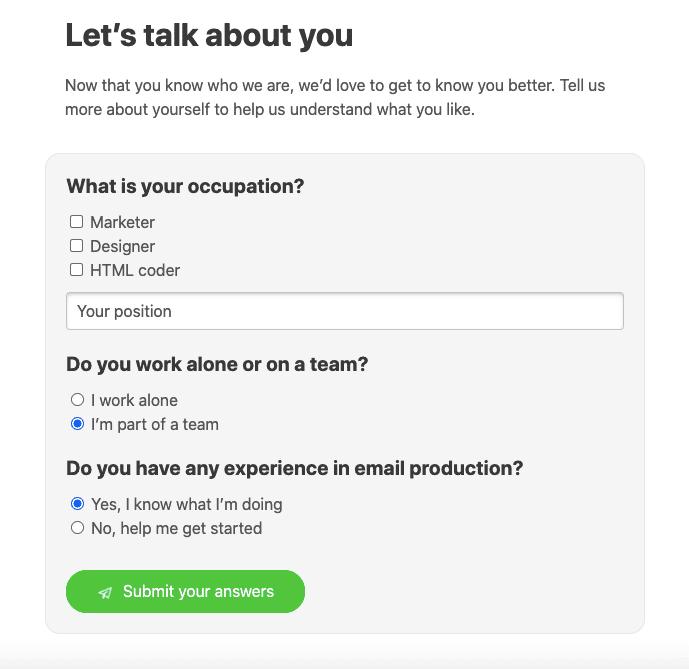AMP Email Example_Runnin Surveys