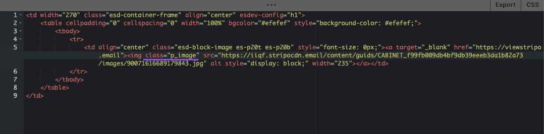 Adding Attributes for Images