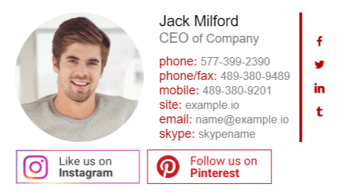 Adding Social Media Icons to Your Email Signature