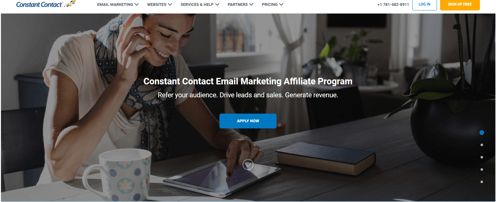 Affiliate ProgramConstant Contact