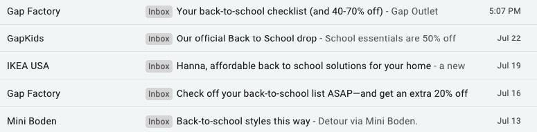 Back to School_Descriptive Subject Lines