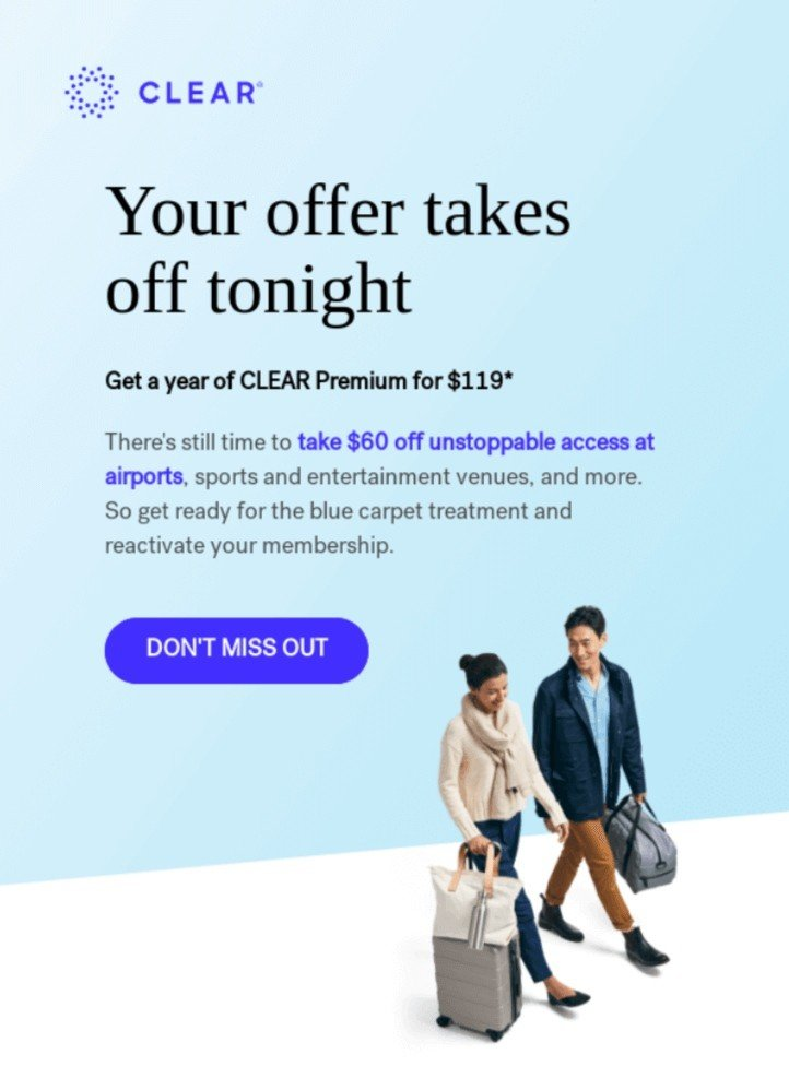 Best Email Coupons Examples_Crystal Blue Coupons