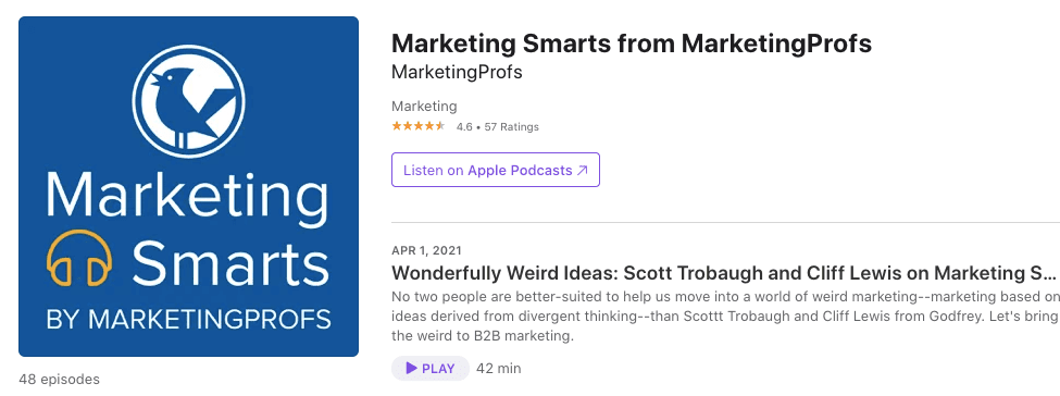 Best Email Marketing Podcasts_Marketing Profs