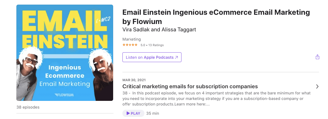 Best Email Marketing Podcasts_The Email Einstein