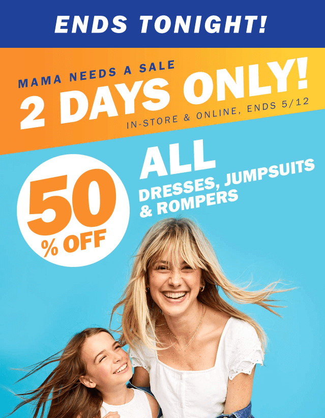 Mothers Day Email Campaign Ideas_Let customers know holiday is coming