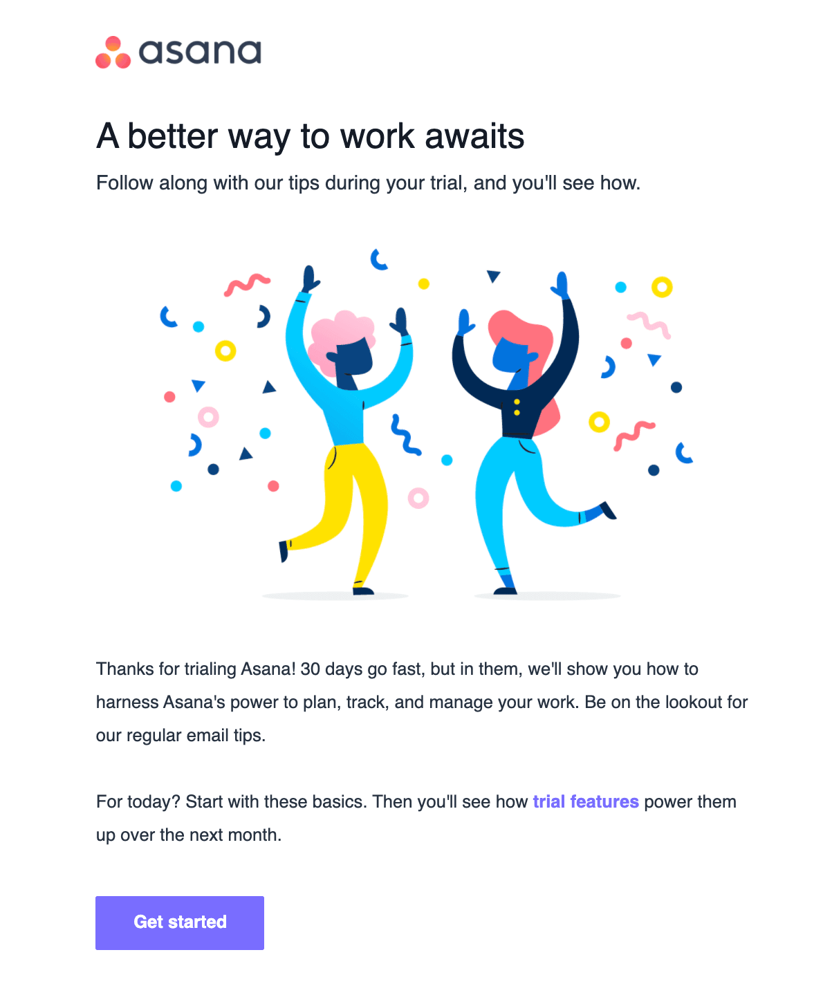 Best Welcome Emails for SaaS Businesses_Using Bright Images