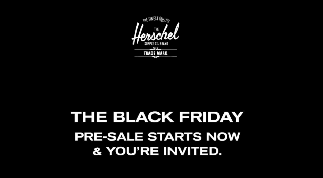 Black Friday Email by Hershell_Pre-order