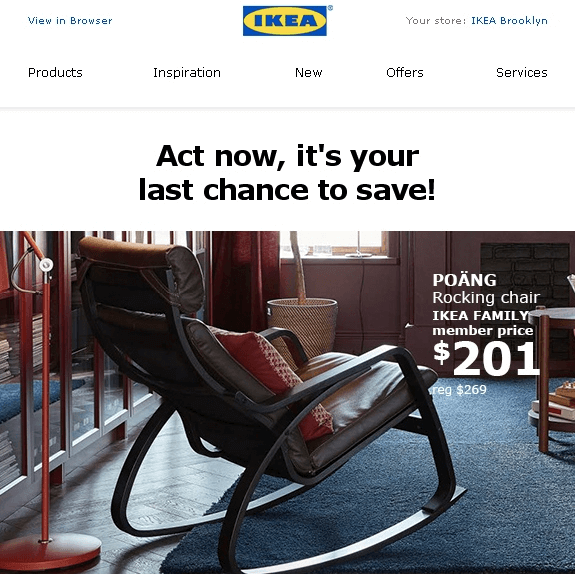 Black Friday Email_Segmentation_Ikea