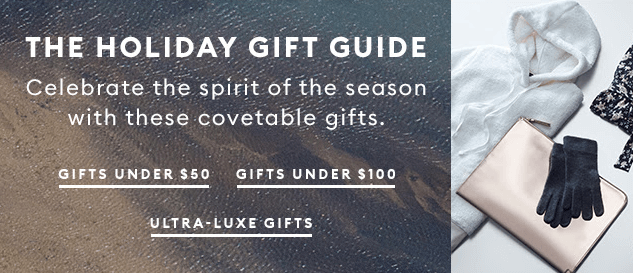 Black Friday Emails_Gift Guide by BananaRepublic