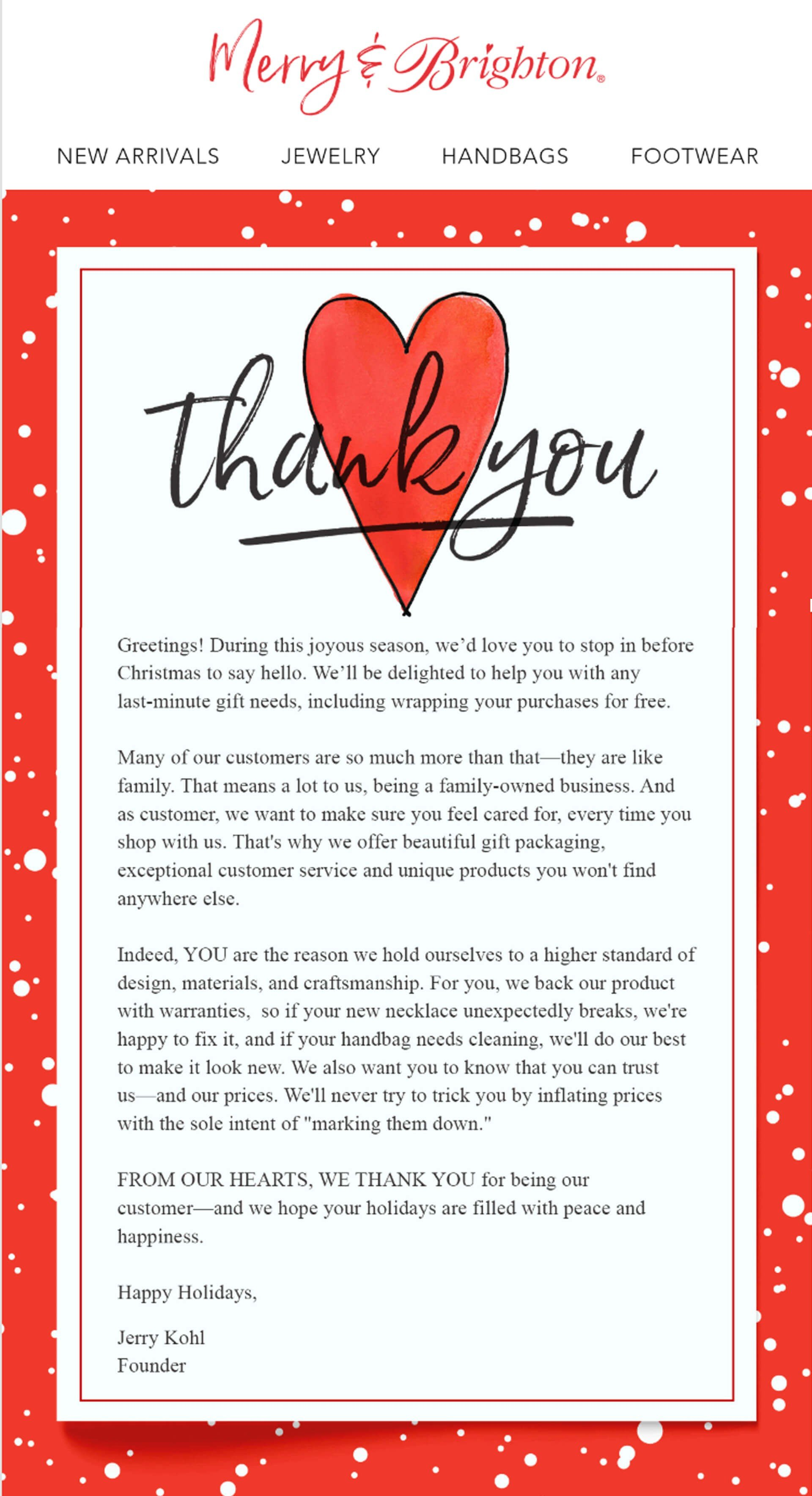 Christmas Email Campaigns_Greeting Cards