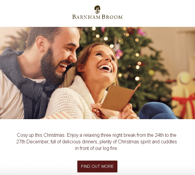 Christmas Email Design Ideas_Cozy Photos