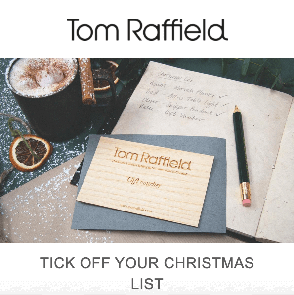 Christmas Email Examples_Nice Way to Promote Vouchers