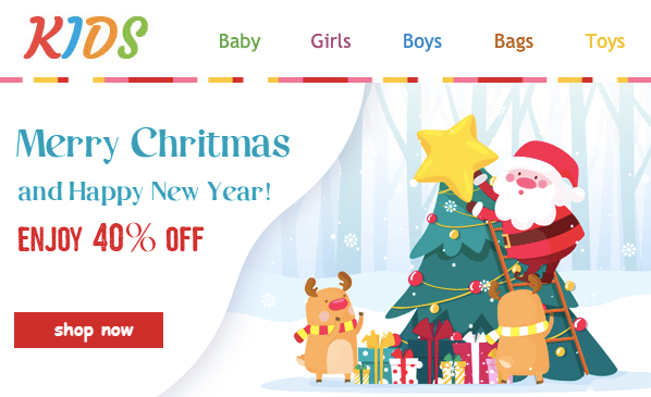 Christmas Email Marketing Ideas_Christmas Email Templates