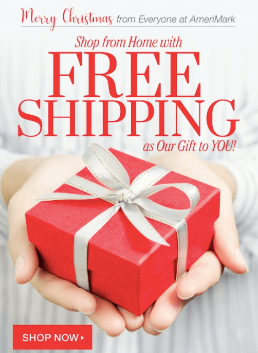 Christmas Email Marketing Ideas_Free Shipping