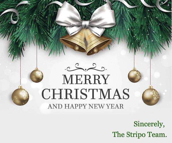 Christmas Email Design Ideas_Congratulating Customers on Christmas