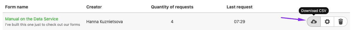 Downloading CSV Files