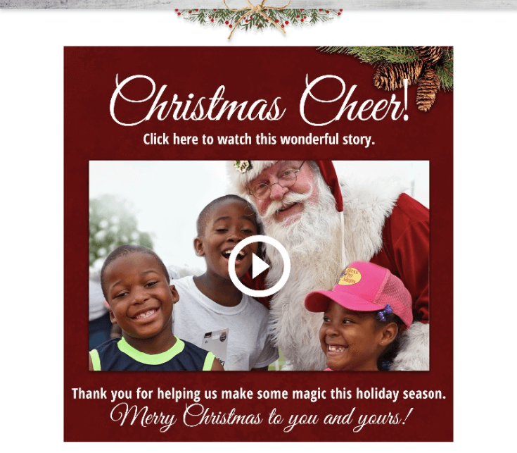 Email Best Practices_Adding Video Greetings in Christmas Emails