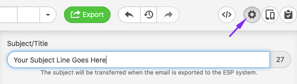 Email Header Best Practices_Setting Subject Line in Stripo