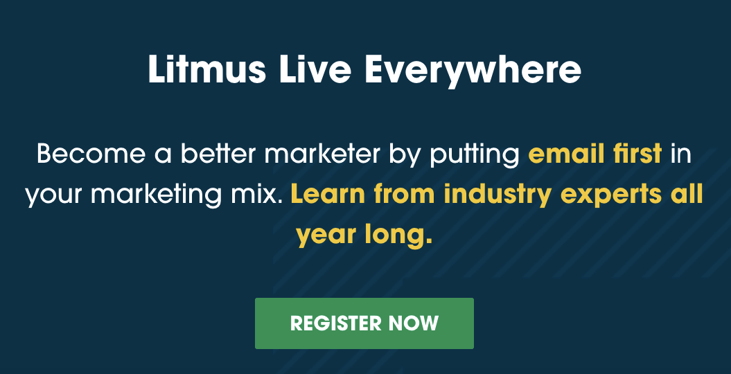 Email Marketing Conferences_Litmus Live