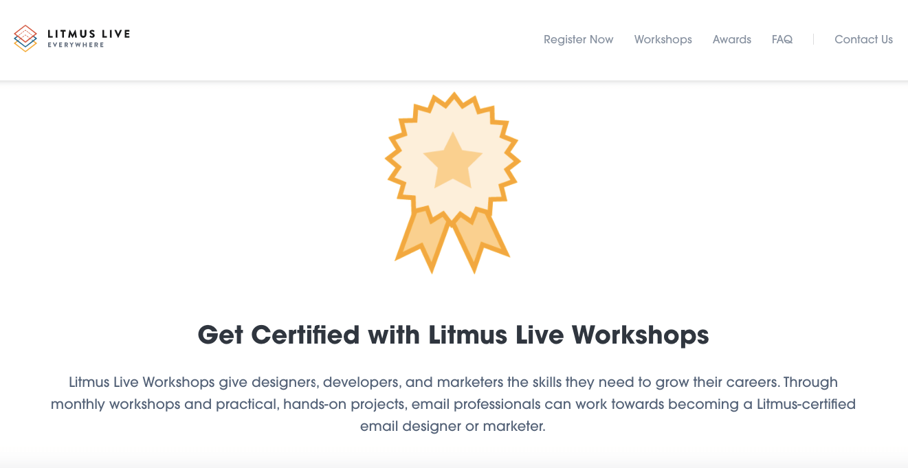 Email Marketing Training Courses_Litmus Live