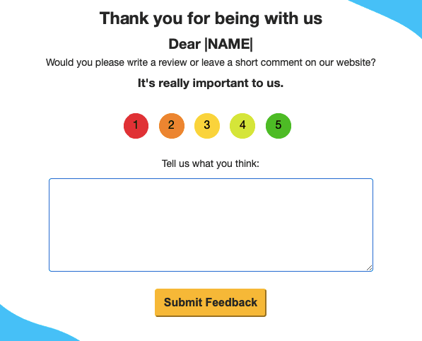 Email Types for SaaS Businesses_Asking Users to Review You