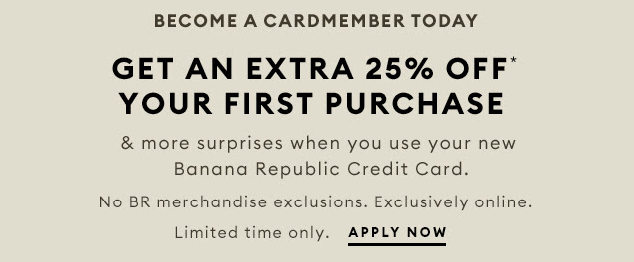 First Order by Banana Republic