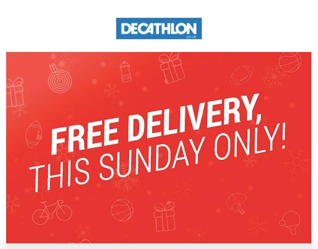 Free Delivery_Decathlon
