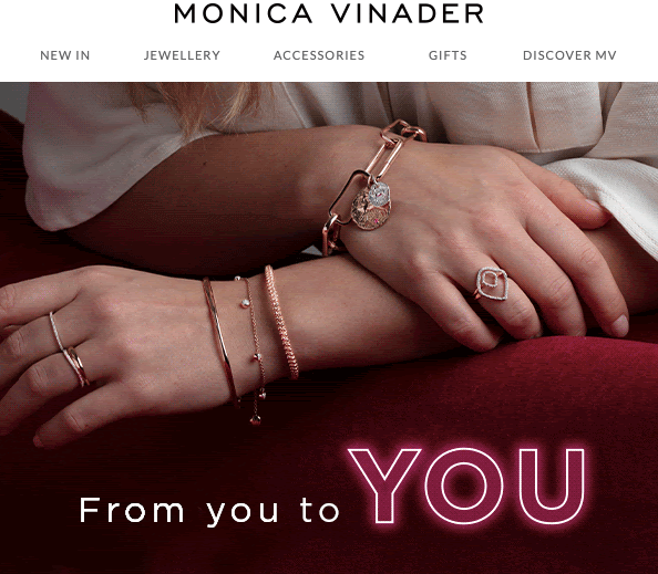 Gifts from you to you_Stripo_St Val Day Newsletters by Monica Vinader