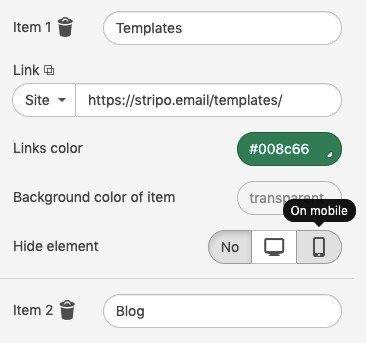 HTML Email Width Best Practice_Hiding Menu Elements