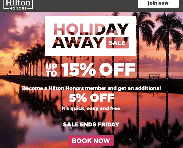 Holiday Sale_Hilton