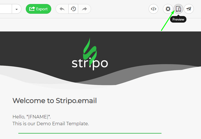 How to Build Email with Stripo Previewing Your Email