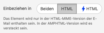 Include in HTML_De