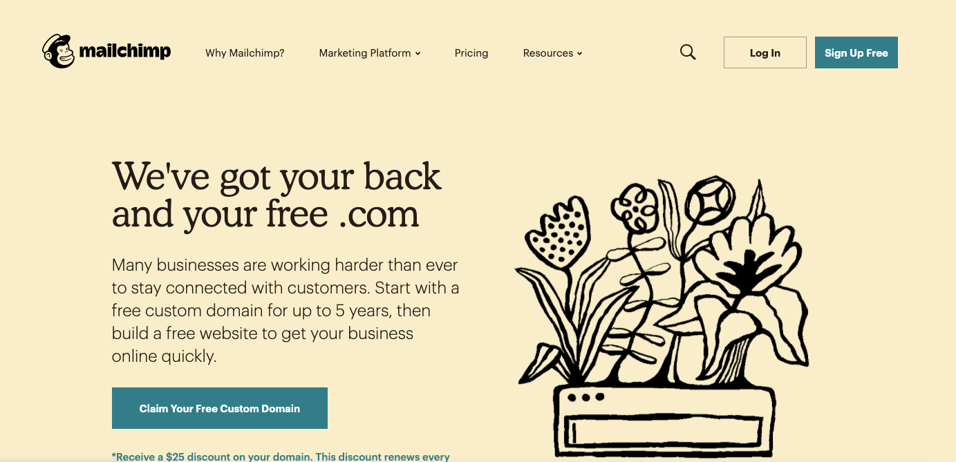 Mailchimp_Landing Page_List of Top Email Service Providers