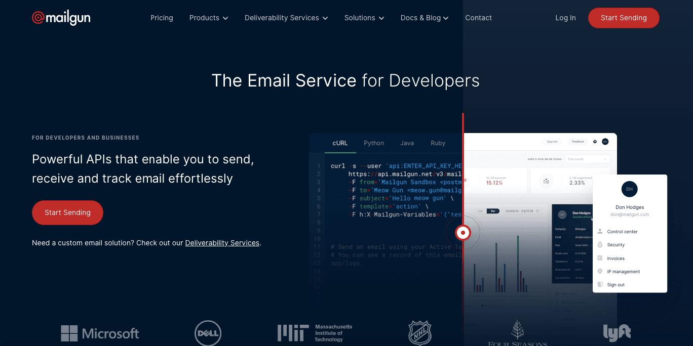 Mailgun_Home Page_ESPs