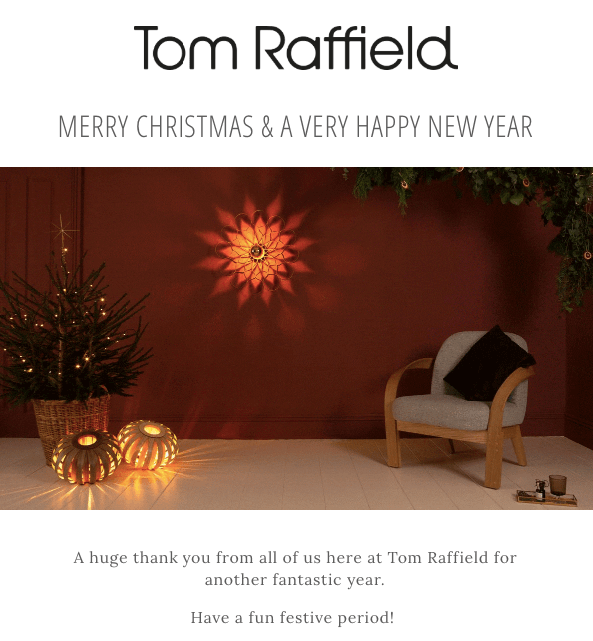Merry Christmas Emails_Wishes from Tom Raffield
