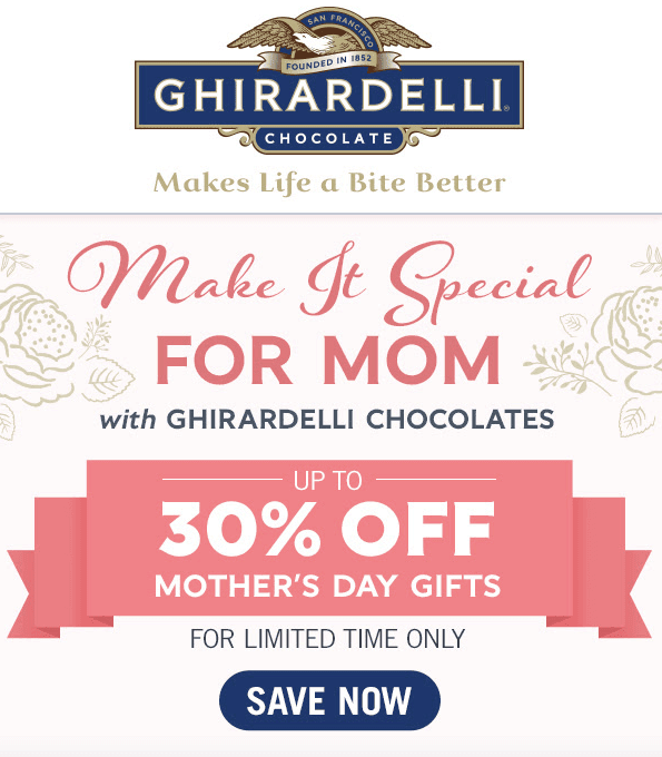 Mothers Day Email Design Tips