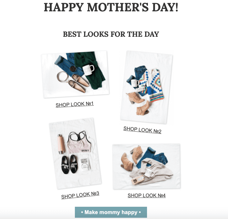 Mothers Day Email Ideas_Sets as a Gift