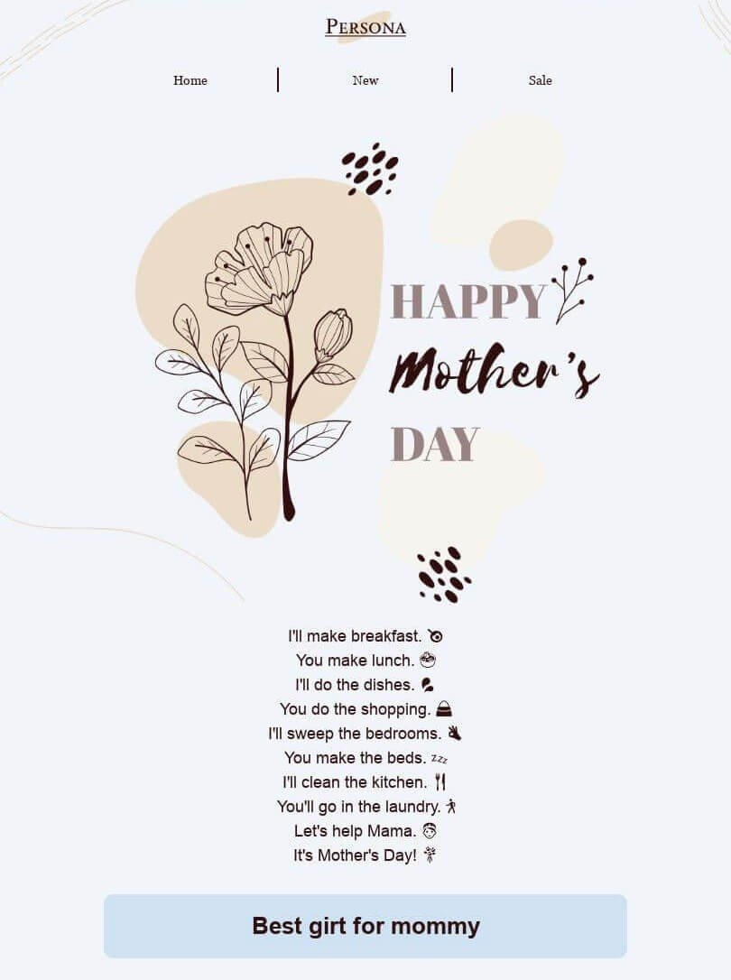 Mothers Day Email Template_Stripo