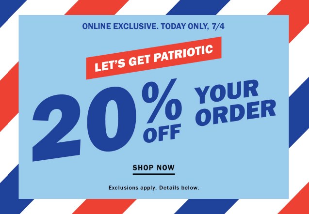 Patriotic Email for Independence Day