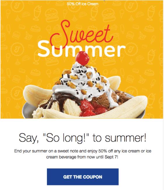Refreshing Design for Summer Emails