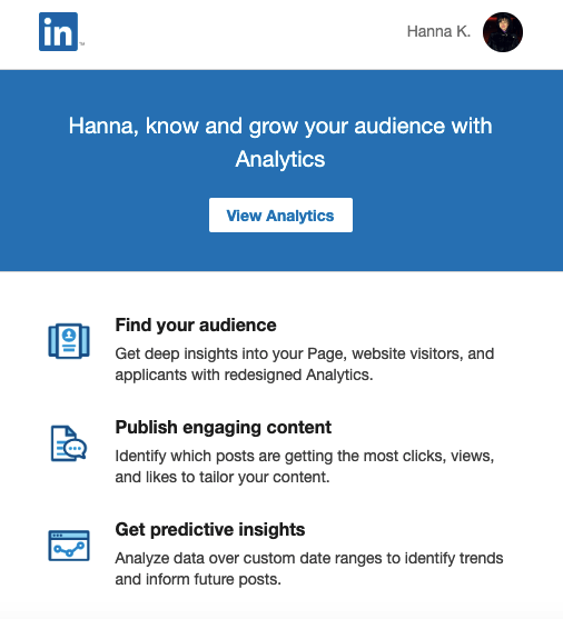SaaS Email Marketing Examples_Personalized Emails