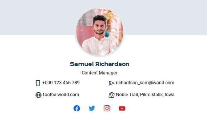 Шаблон email-подписи_Личный Менеджер