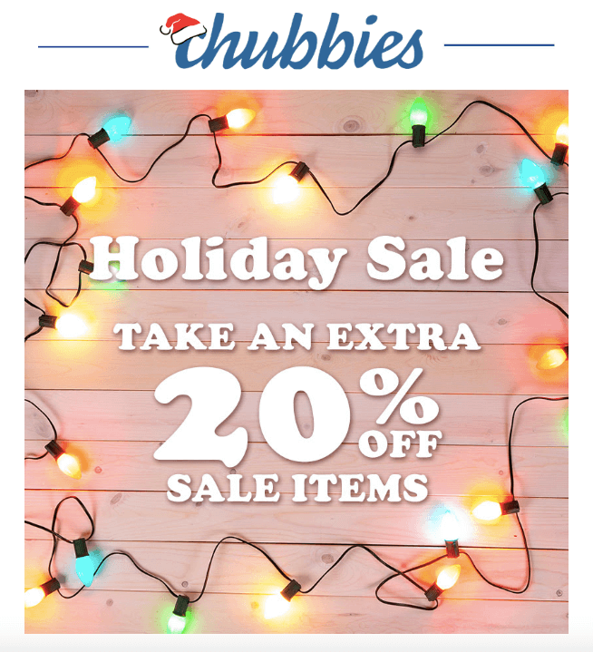 Start of the Sale_by Chubbies