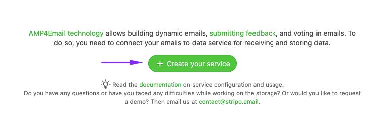 Starting a New Data Service