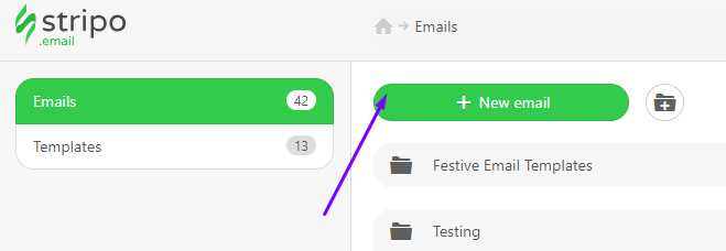Stripo How to Build an Email Three Options