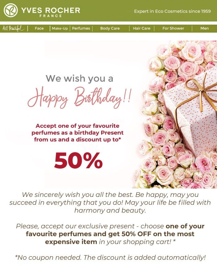 Trigger Emails_Happy Birthday Emails