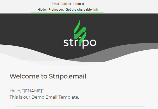 Stripo Test HTML Email Subject Line