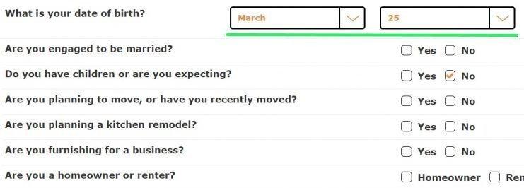 Stripo_Happy Birthday Emails_Registration Form by Ikea