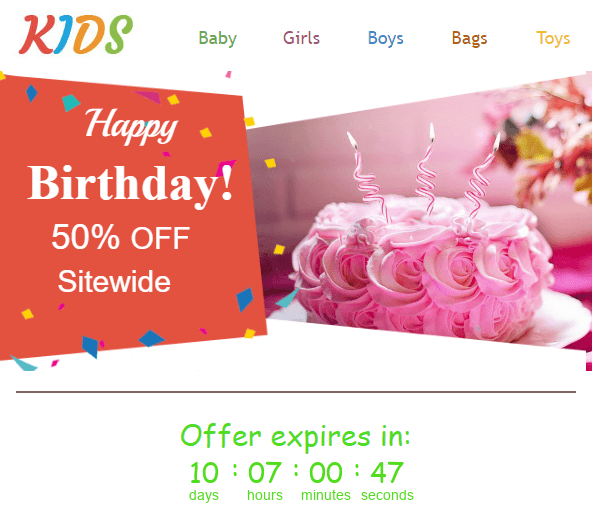 Stripo_Happy birthday Emails_Timer